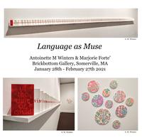 """Language as Muse"" at Brickbottom Gallery"